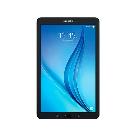 samsung galaxy tab e 9 6 16gb tablet with apps and. Black Bedroom Furniture Sets. Home Design Ideas