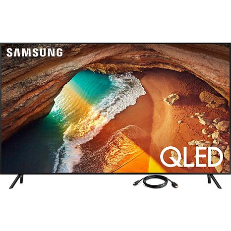 "Samsung Q60R 65"" QLED 4K UHD Smart TV with 6' HDMI Cable"