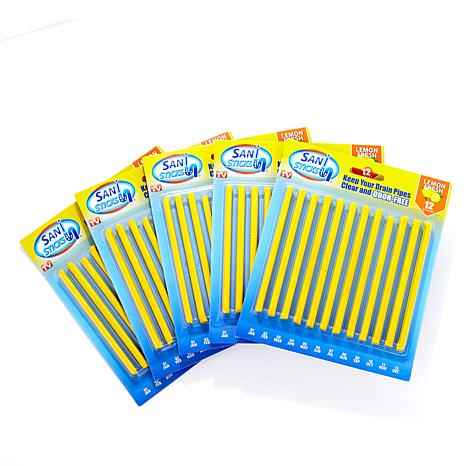 SANI STICKS® Sanitation & Drain Deodorizer 60ct - Lemon
