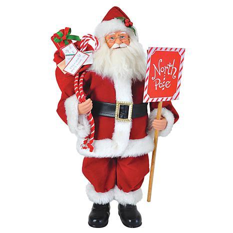 """Santa's Workshop North Pole Santa - 15"""""""