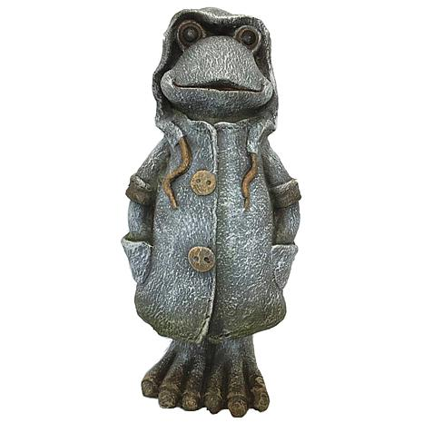 Santa's Workshop Rain Coat Frog