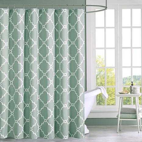 Saratoga Geometric Shower Curtain