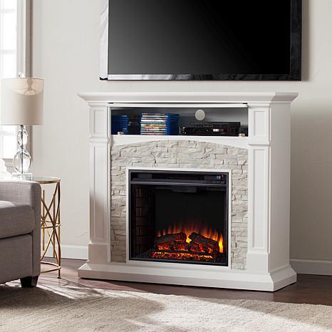 southern enterprises seneca electric media fireplace