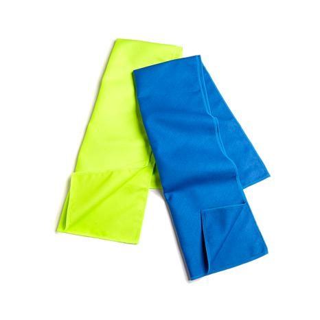 Serena Williams 2pk Thermochromic Print Cooling Towels