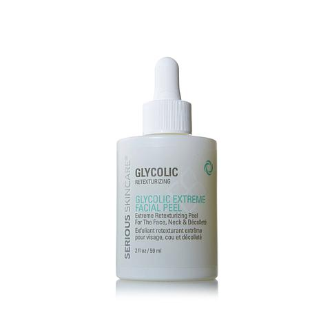 Serious Skincare Glycolic Extreme Facial Peel 2 oz (6 Pack) MUCHMORE Snow Blossom Cream
