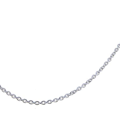 "Sevilla Silver™ 2.3mm Cable Chain  18"" Necklace"