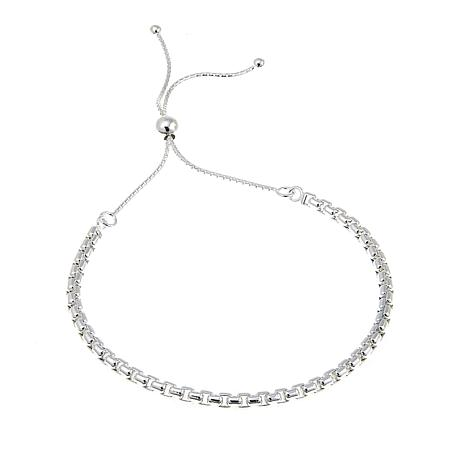 Sevilla Silver™ Adjustable Box Chain Bracelet
