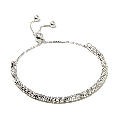 Sevilla Silver™ Popcorn Chain Adjustable Bracelet