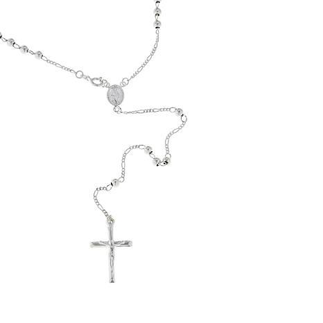 Sevilla Silver™ Rosary Necklace