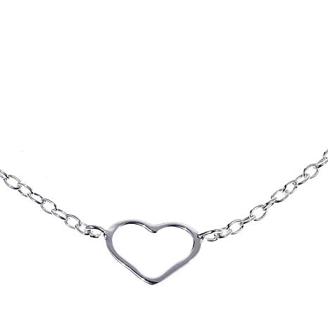 "Sevilla Silver™ Teardrop Station 24"" Necklace"