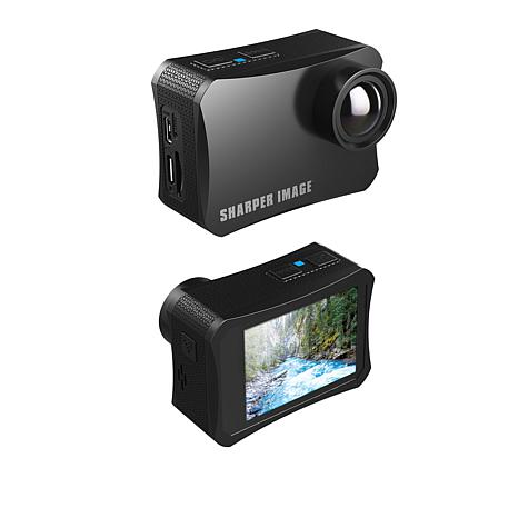 Sharper Image 4K Wireless Action Camera w/Accessories and 16GB SD Card