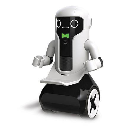 Sharper Image Interactive Toy Robot Butler With Wireless Remote