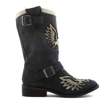 Sheryl Crow Moto Eagle Pull-On Boot