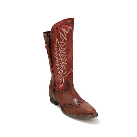 Sheryl Crow Western Leather Boot