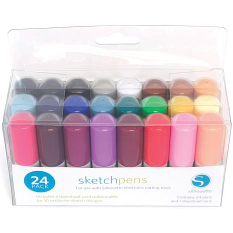 Silhouette 24-pack Sketch Pens