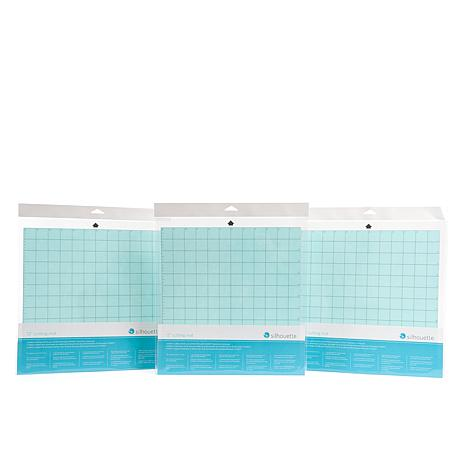 "Silhouette CAMEO 12"" x 12"" Replacement Cutting Mat 3pk"