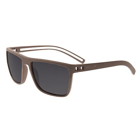 Simplify Dumont Polarized Sunglasses - Beige Frames and Black Lenses