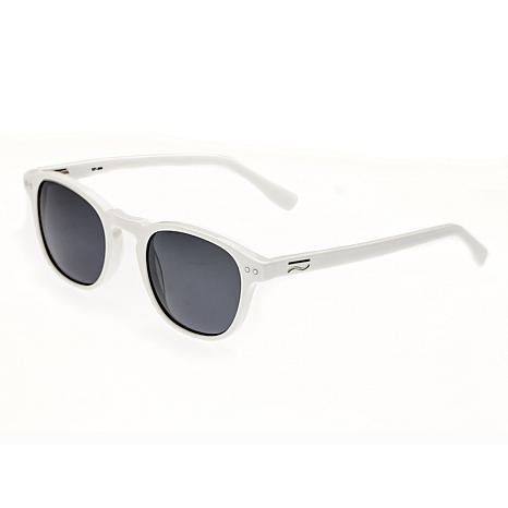 Simplify Walker Polarized Sunglasses with White Frames