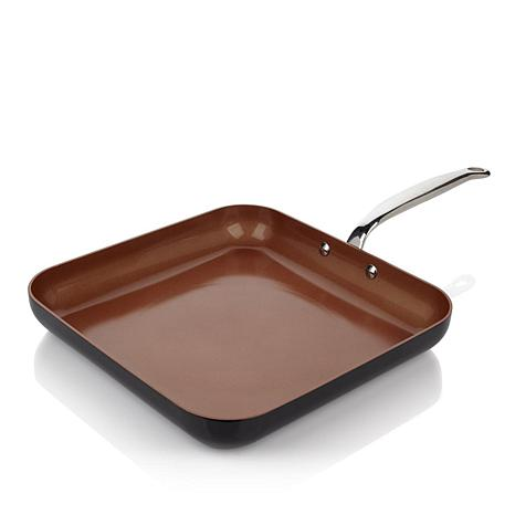 """Simply Ming 11"""" Square Griddle Pan"""