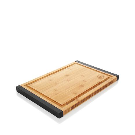 simply ming bamboo nonskid cutting board with knife station, Kitchen design