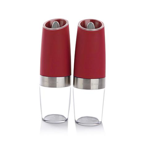 Simply Ming Gourmet Electric Spice Mills 2pc Gift Set