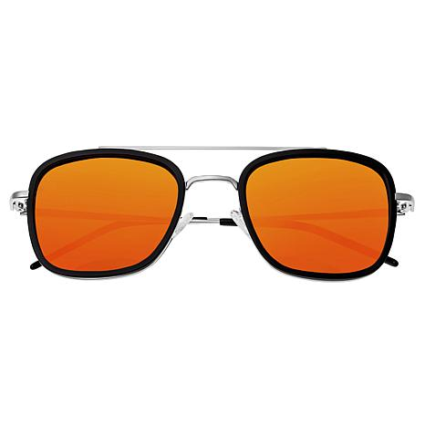 Sixty One Orient Polarized Sunglasses with Black Frame and Gold Lenses