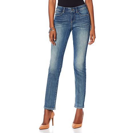 Skinnygirl 5-Pocket Straight-Leg Jean
