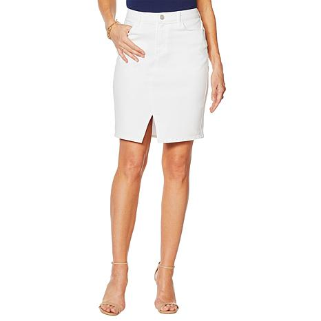 Skinnygirl Denim Pencil Skirt