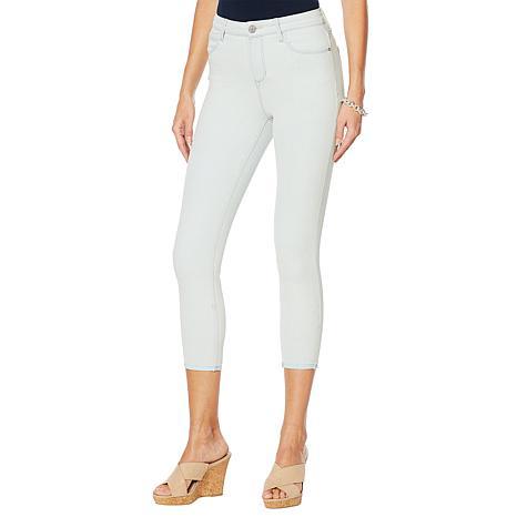 Skinnygirl High-Rise Skinny Cropped Jean