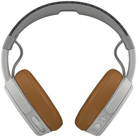 Skullcandy  Crusher Over-the-Ear Headphones with Microphone - Gray/Tan