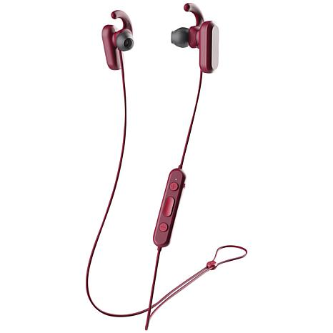 Skullcandy Method Anc Bluetooth Earbuds With Microphone Red Black 9300073 Hsn