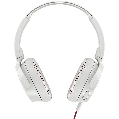 Skullcandy Riff Wired On-Ear Headphones with Microphone - White