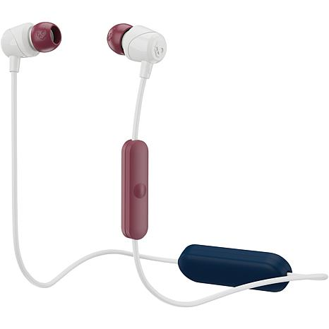 Skullcandy S2DUW-L677 Jib In-Ear Earbuds with Microphone-Crimson/Gray