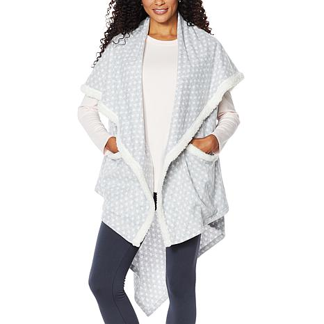 Soft & Cozy Blanket Wrap with Pockets