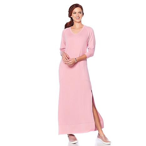 Soft & Cozy Cool Luxe Knit Lounge Dress
