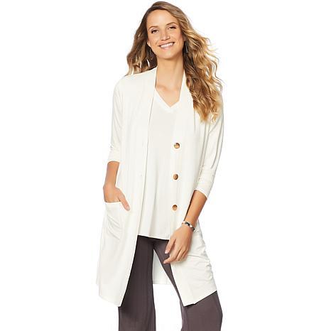 Soft & Cozy Loungewear Cool Luxe Knit Duster