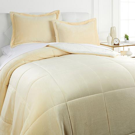 Soft & Cozy Plush Sherpa Comforter Set