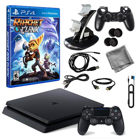 """Sony PlayStation 4 Core 1TB Console Bundle with """"Ratchet and Clank"""""""