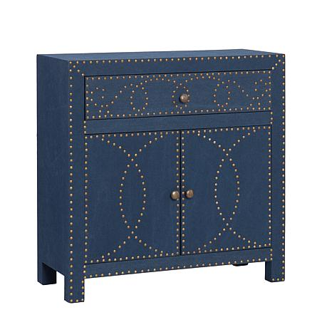 Southern Enterprises Florian Double-Door Cabinet - Navy