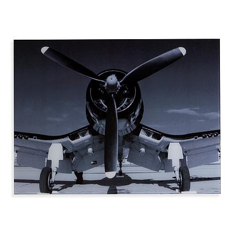 "Southern Enterprises ""Single Propeller Plane"" Wall Art"