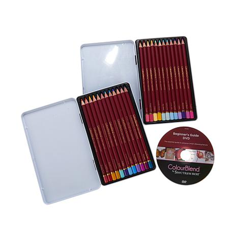 Spectrum Noir Colorblend Pencils and DVD Set
