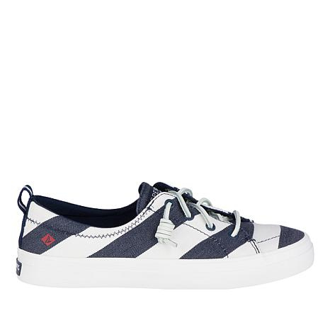 Sperry Crest Vibe Breton Stripe Slip-On Sneaker