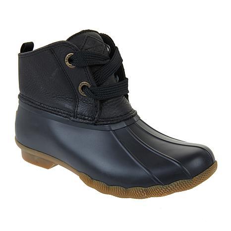 0890e333de8 new! Sperry Saltwater 2-Eye Leather Shaft Duck Boot