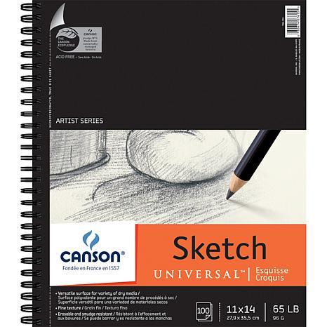 "Spiral Sketch Book 11"" x 14"" - 100 Sheets"