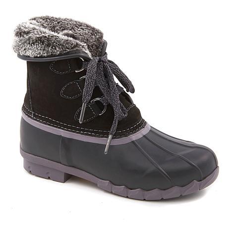 Sporto® Defrost Waterproof Laced Duck Boot