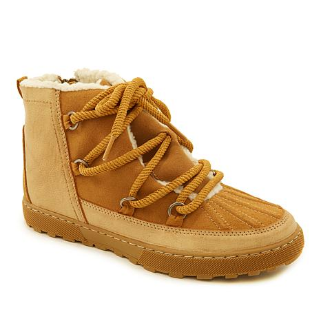 Sporto® Madison Water-Resistant Suede Hiker Boot