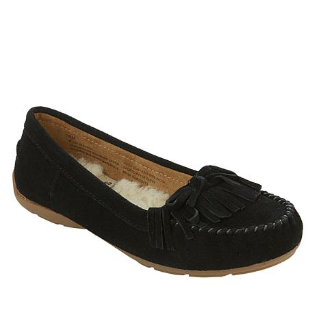 Sporto® Patty Water-Resistant Suede Slip-On Loafer