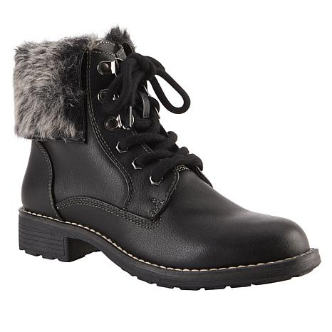 Sporto® San-Over Lace-Up Ankle Boot