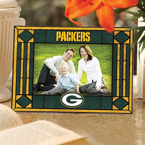Sports Team Art Glass Picture Frame - Packers