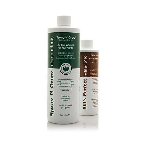 Spray-N-Grow 16 oz. and Bill's Perfect Fertilizer 8 oz. Kit